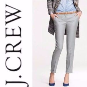 J. Crew Pants: Café capri in wool